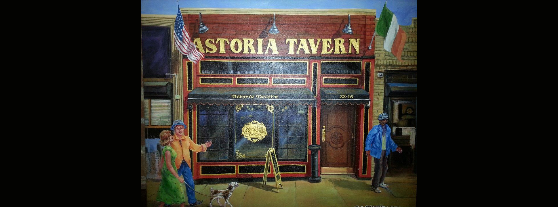 Astoria Tavern Painting Slideshow